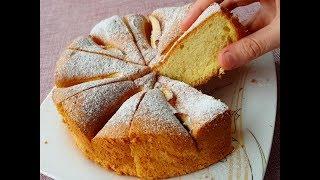 PAMUKLUKTA REKOR KIRAN YOĞURTLU ELMALI KEK - YOGURT APPLE CAKE #cake #food