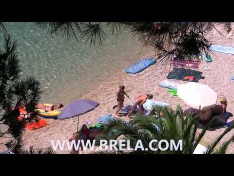 Brela - beach Podrače 2010. (2. part)