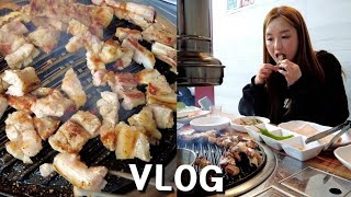 Real Vlog:) THE DAY OF HAMZY ★ Grilled Marinated Pork Ribs, Ttokbokki and BEER
