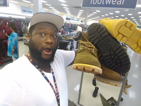 UNBELIEVABLE: Timberland Heaven At Marshall's 🔥🔥