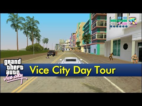 Vice City Day Tour [The GTA:Vice City Tourist]