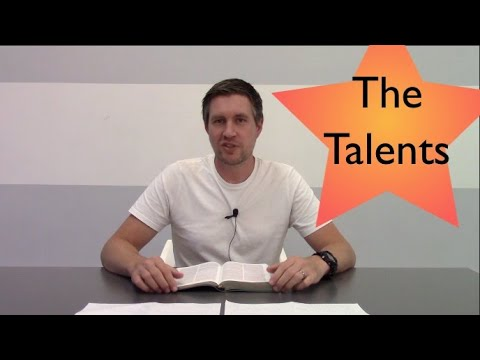 Sunday Service - The 3 Talents