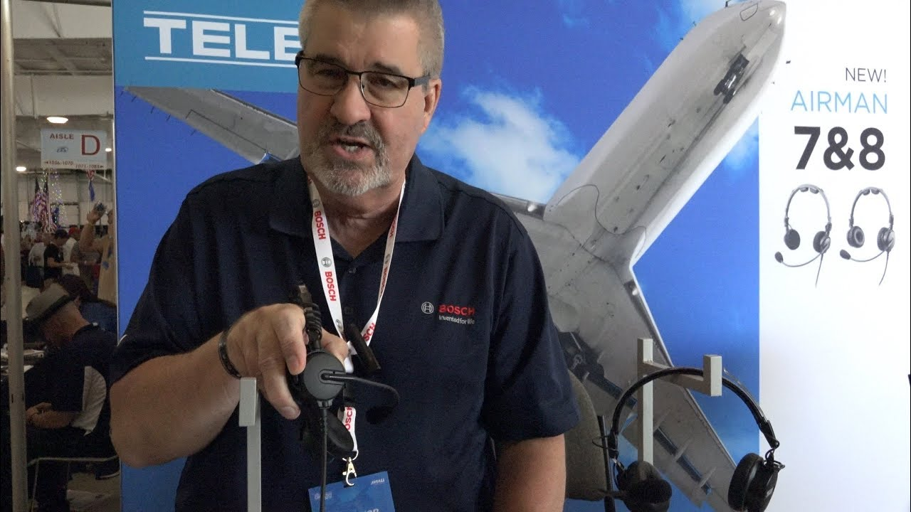 a6a225659a3 Airventure - Telex Airman 8 - A Great Headset with ANR - YouTube