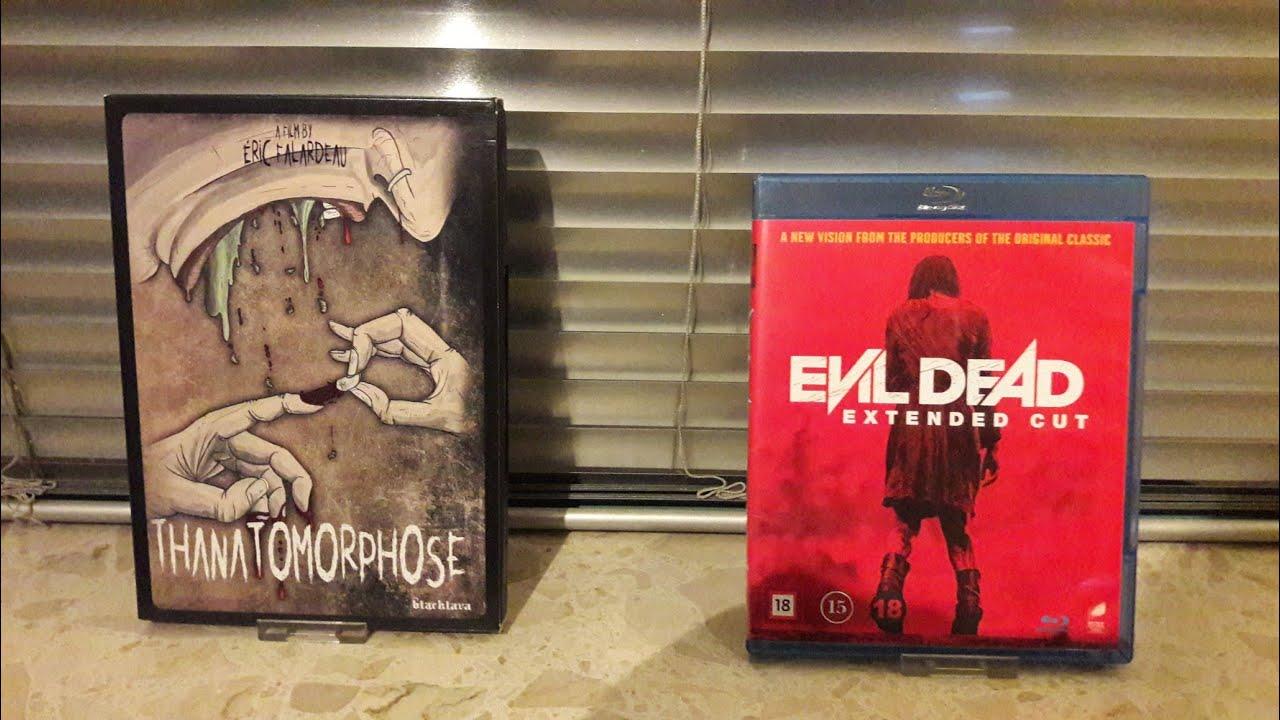 Download Evil Dead Extended Cut Blu-ray und Tanatomrphose Black Lava DVD Unboxing