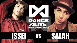 Download Video ISSEI(Japan) vs SALAH(France) FINAL / DANCE ALIVE WORLD CUP 2018 MP3 3GP MP4