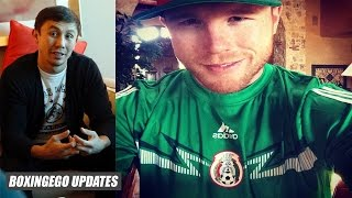 """GGG: Canelo wants to wait 3 years to fight me """"Everybody wants to watch this fight He's just scared"""""""