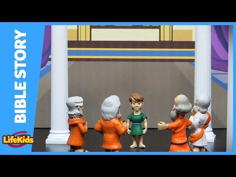 Bible Theater: Luke - Boy Jesus in the Temple - LifeKids.tv