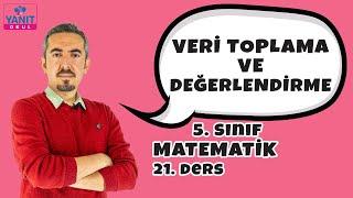 Veri Toplama ve Değerlendirme | 5. Sınıf Matematik Konu Anlatımları