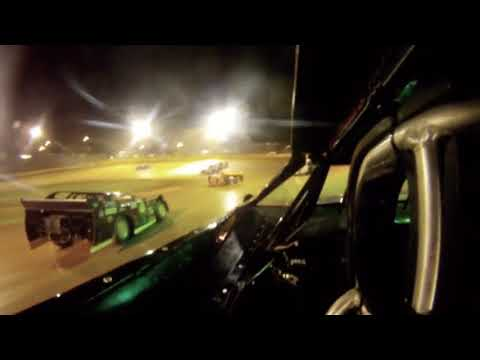 Mack McCarter In Car Camera 411 Motor Speedway