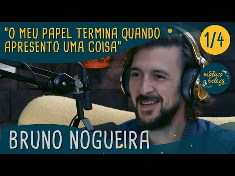 Maluco Beleza - 'O meu papel termina quando apresento uma coisa  ' - Bruno Nogueira (pt1)
