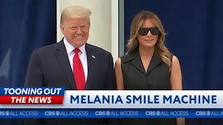 Melania needs a new smile machine
