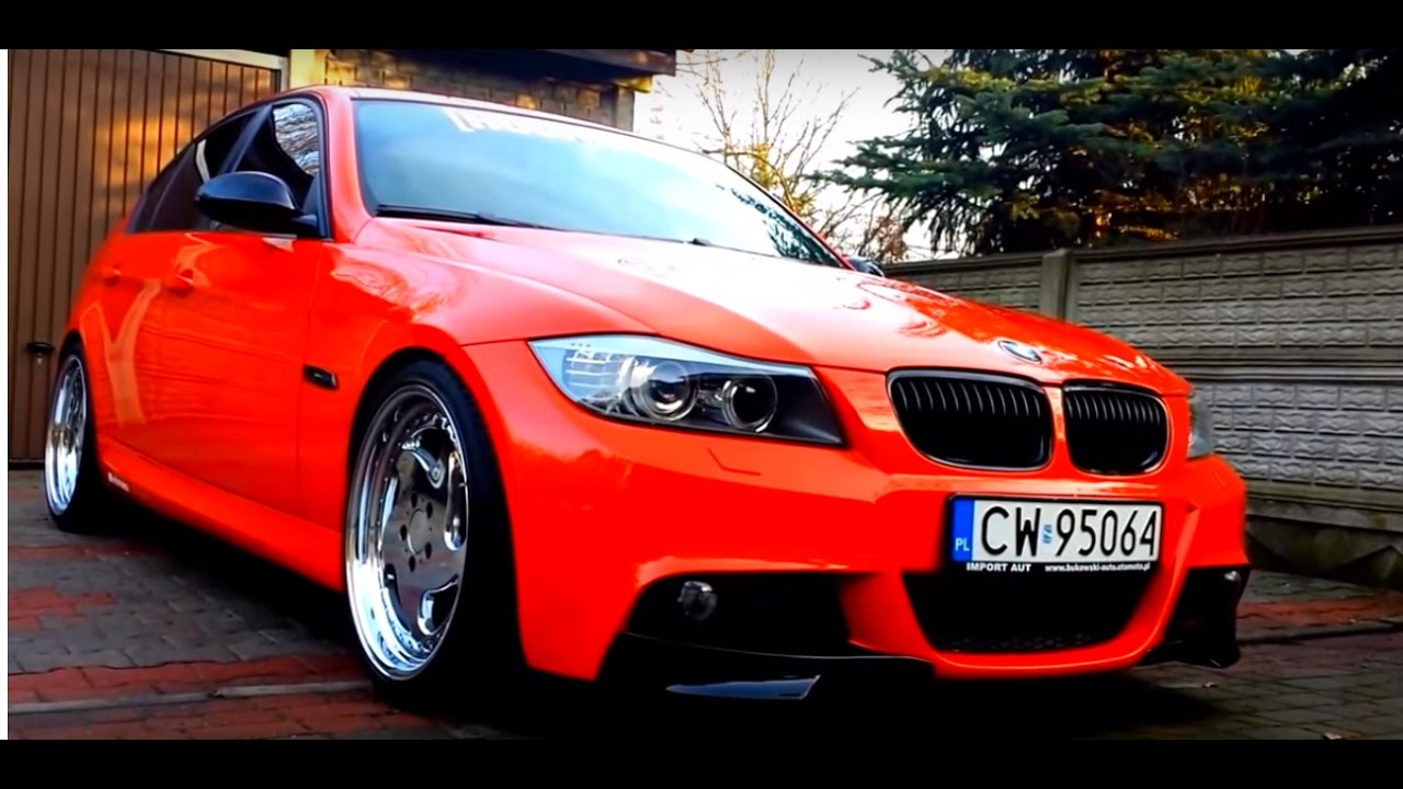 bmw e90 320d m paket performance 39 japan rot 39 from poland youtube. Black Bedroom Furniture Sets. Home Design Ideas