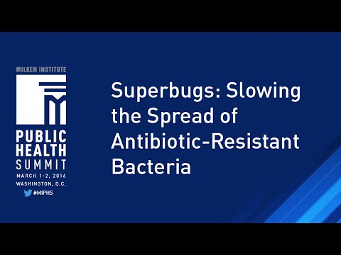 Superbugs: Slowing the Spread of Antibiotic-Resistant Bacteria