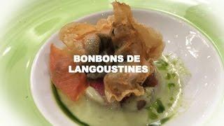 BONBONS DE LANGOUSTINES