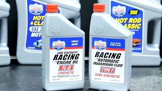 Lucas Oil FL 0 Racing Oil and Semi Synthetic Type F ATF