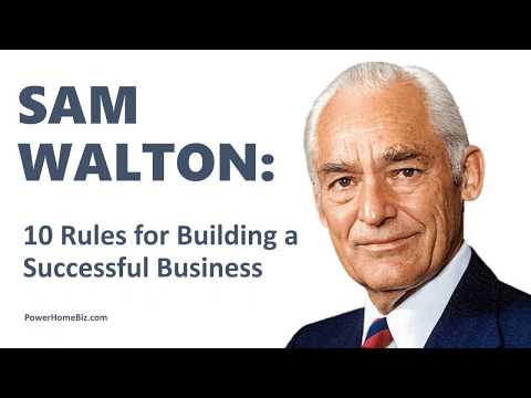 a description of wal mart success which was started by sam walton Biography: sam walton history and growth of wal-mart walton part of walton's enthusiasm could be recognized with the cheer that he started and that is.