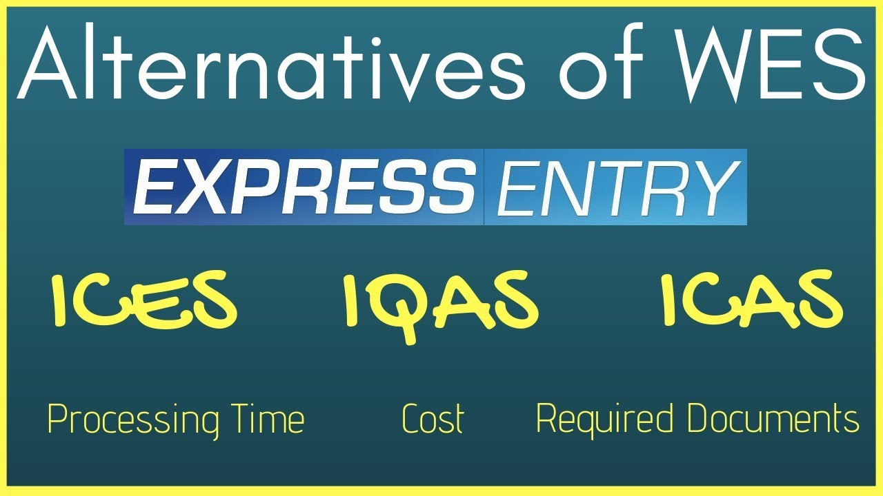 🇨🇦 Alternatives of WES | ECA for Canada Express Entry