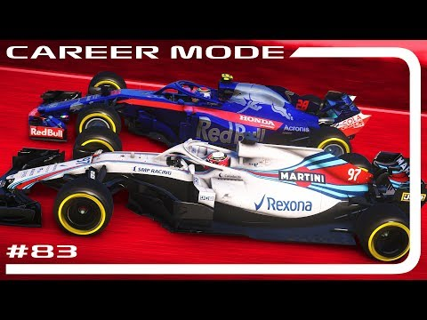 F1 2018 CAREER MODE 83  THE STRUGGLE IS REAL  Brazilian GP 110% AI