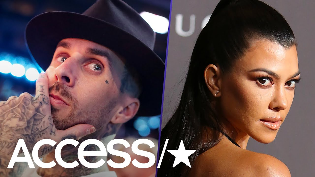 Travis Barker Reacts To Rumors That He's Dating Kourtney Kardashian | Access