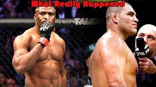 What Really Happened at UFC ESPN (Francis Ngannou vs Cain Velasquez)