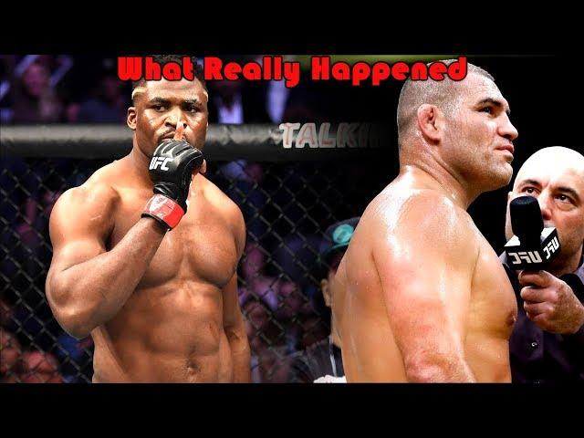 What Really Happened at UFC ESPN (Francis Ngannou vs Cain Velasquez)