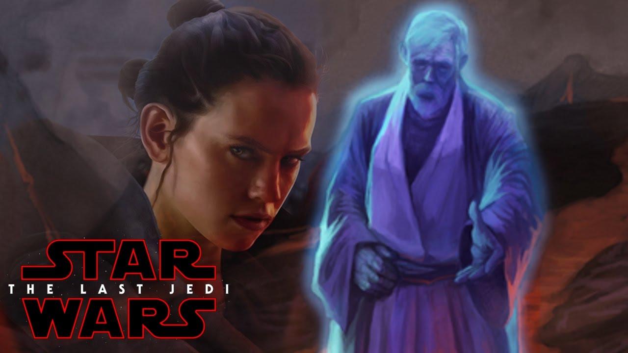 star wars episode 8 the last jedi rey amp obi wan kenobi