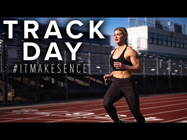 BROOKE ENCE VLOGS   Speed legs, Sled Pulls, and Arms