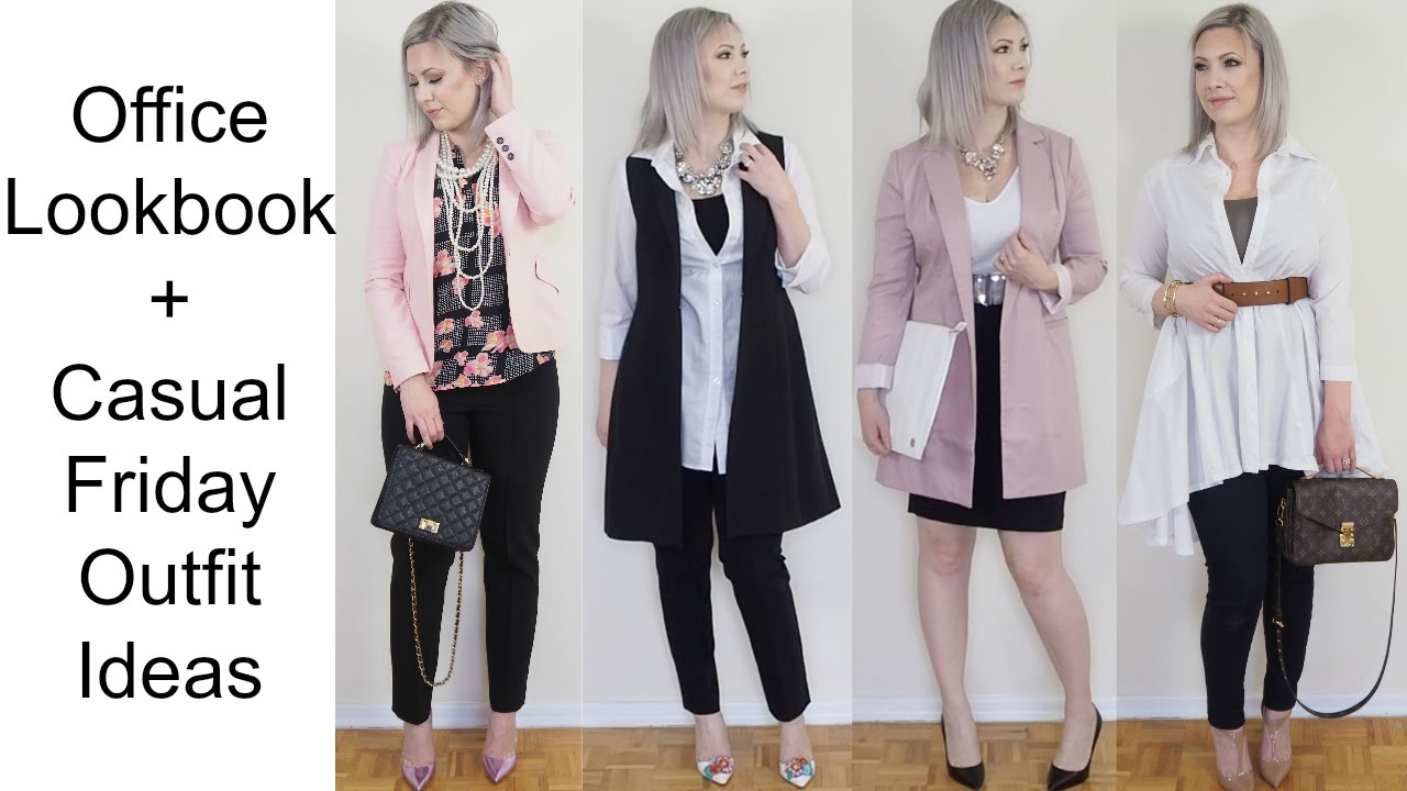 Work Outfits Office Lookbook Workwear Youtube
