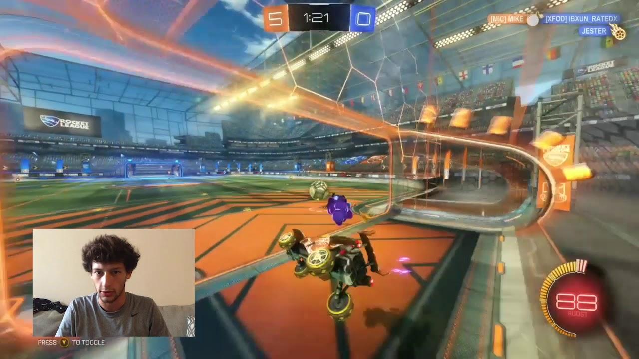 Champions Field Celebration Techniques Rocket League Youtube