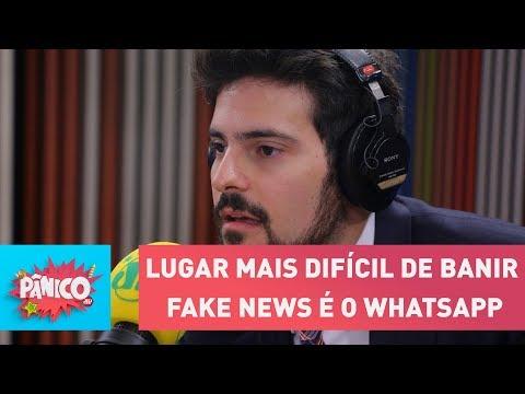 Sabe onde é mais difícil banir fake news? No WhatsApp