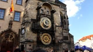 Prague Astronomical Clock - The Walk of the Apostles