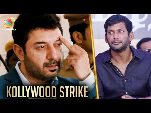 I'm Tired of the Strike : Arvindswamy | Kollywood Strike | Latest Tamil Cinema News
