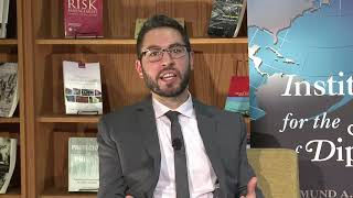 ISD Diverse Diplomacy Leaders series with Hammad Hammad _ short event video