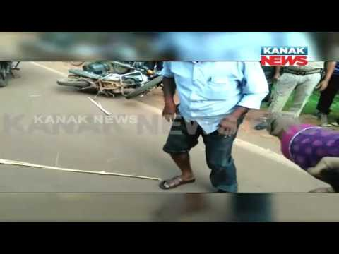 MUST WATCH- Utkal Varsity's Girls Thrashed Tuition Teachers Over Eve-Teasing