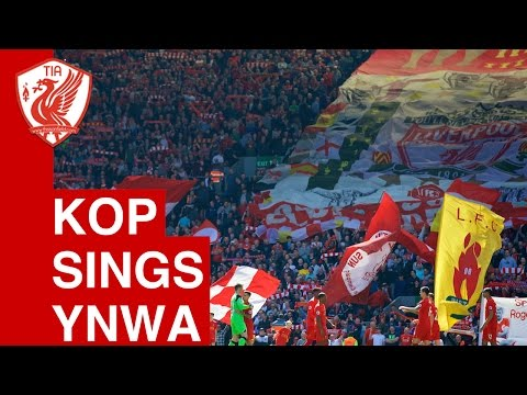 You'll Never Walk Alone (The Kop, Anfield, Liverpool vs. Middlesbrough)