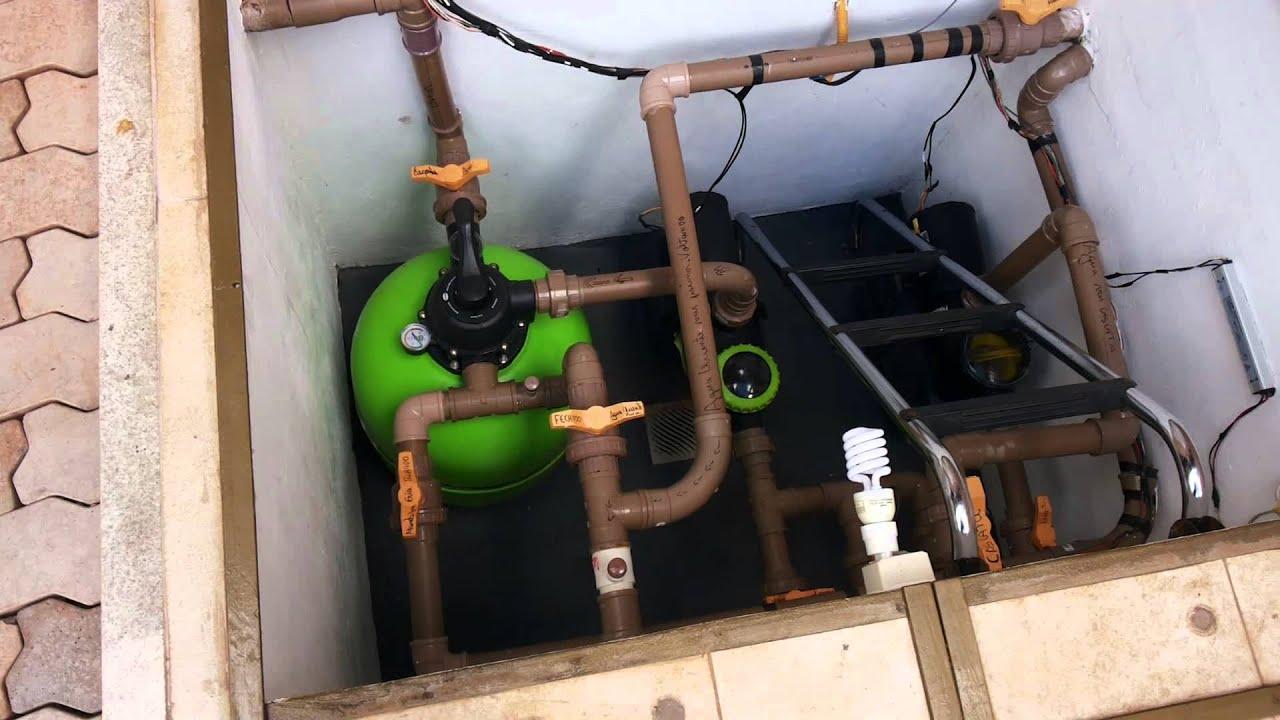 Casa de maquinas portalda piscina 9928 6006 youtube - Piscina para casa ...