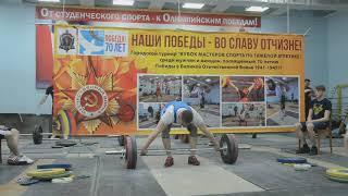 КМС Сахаров Сергей (94) рывок 130 кг