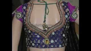 Latest Wedding Saree Blouse Designs