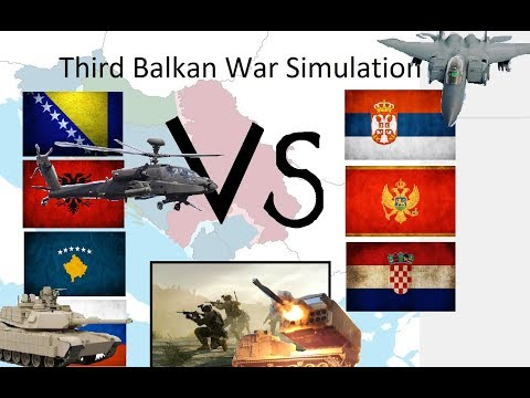 Third Balkan war simulation
