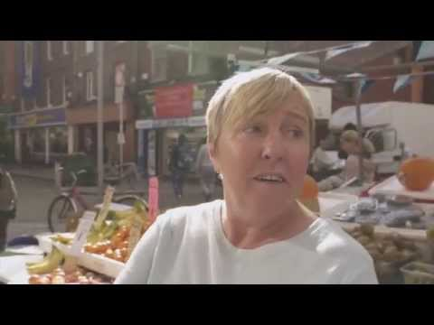 Moore St. Trader Sells Hunger To The People Of Dublin