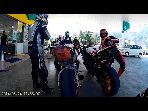 RIDE - CORNERING - Simpang Pulai, Ipoh to Cameron Highland,