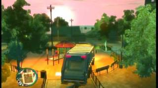 GTA IV - Swing Glitch Garbage Truck