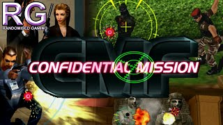 Confidential Mission - Sega Dreamcast - Intro and full mission 1 gameplay [HD 1080p 60fps]