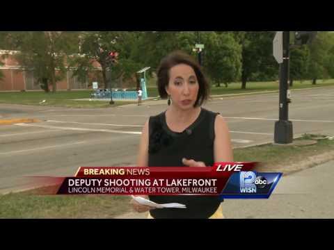 Deputy shooting reported along Milwaukee's lakefront