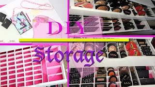Diy Storage Organization! Step By Step ✿◕ ‿ ◕✿