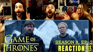 "GAME OF THRONES Season 8 Episode 2 - REACTION!!! ""A Knight Of The Seven Kingdoms"""