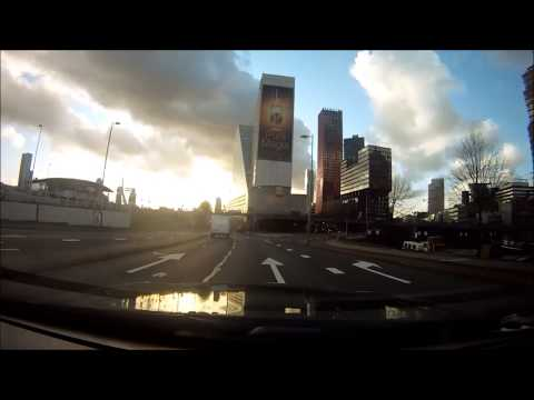 Urban Drive: Rotterdam City Centre, City Tour!