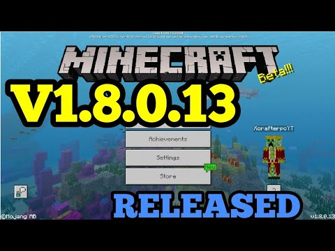 minecraft pe 1.8 free download pc