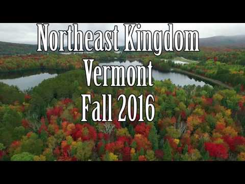 Fall 2016 in the Northeast Kingdom of Vermont from a DJI Phantom 4 drone