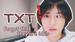 Download TXT forgot that they are idols   아이돌이라는 사실을 잊은 투모로우바이투게더